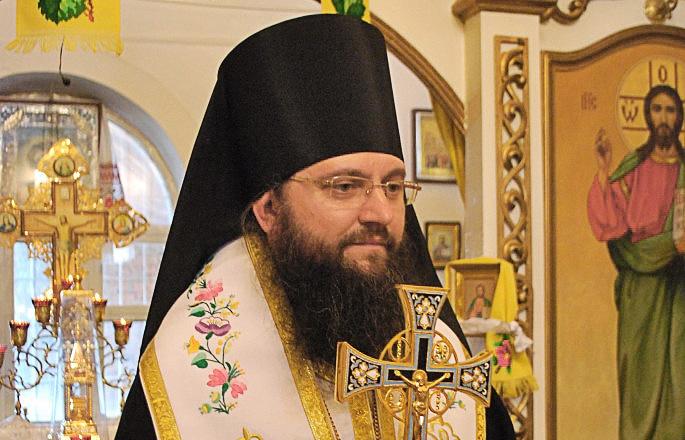 Председатель Синодального информационного отдела УПЦ Московского патриархата архиепископ Ирпенский Климент (Вечеря)