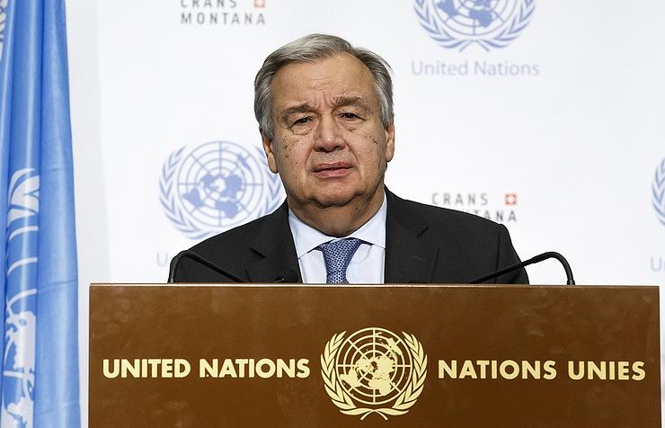 Генсек ООН включил урегулирование карабахского конфликта в число приоритетов на 2018 год
