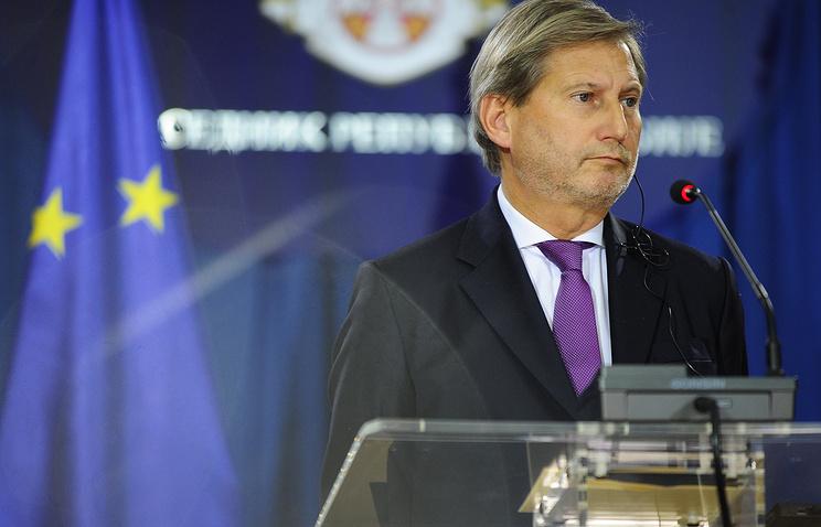 EC может принять Сербию иЧерногорию вускоренном порядке