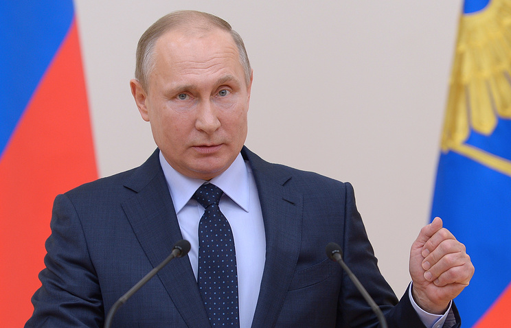 Владимир Путин: Сборная РФ показала блестящую подготовку ипобедный настрой