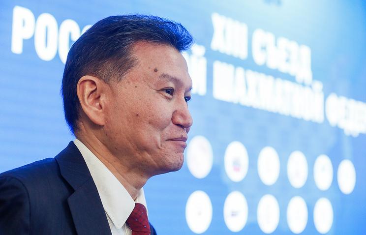 ФИДЕ сообщила  опланах UBS закрыть счета из-за санкций против Илюмжинова