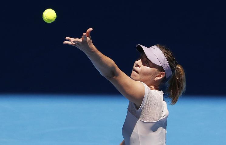 Элина Свитолина опустилась врейтинге WTA на 4-ое место