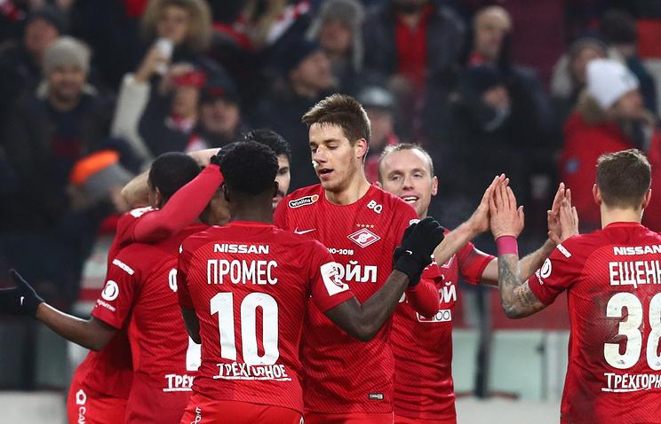 «Спартак» вырвал победу вматче против «СКА-Хабаровска»