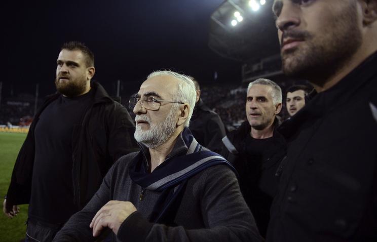 Президент футбольного клуба ПАОК Иван Саввиди