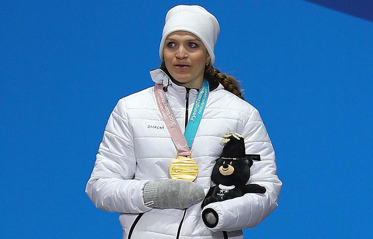 Трехкратная чемпионка Паралимпиады Екатерина Румянцева