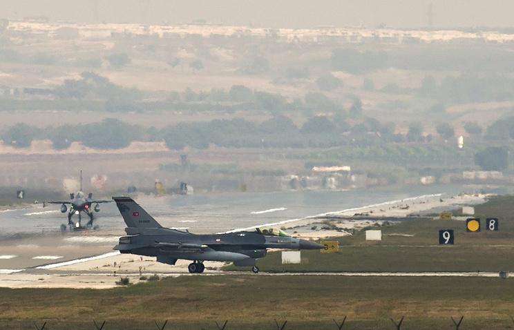 НАТО и Анкара обсудят использование авиабазы Инджирлик в случае операции в Сирии