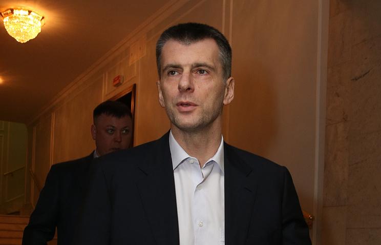 Прохоров реализовал 49% акций «Бруклина»