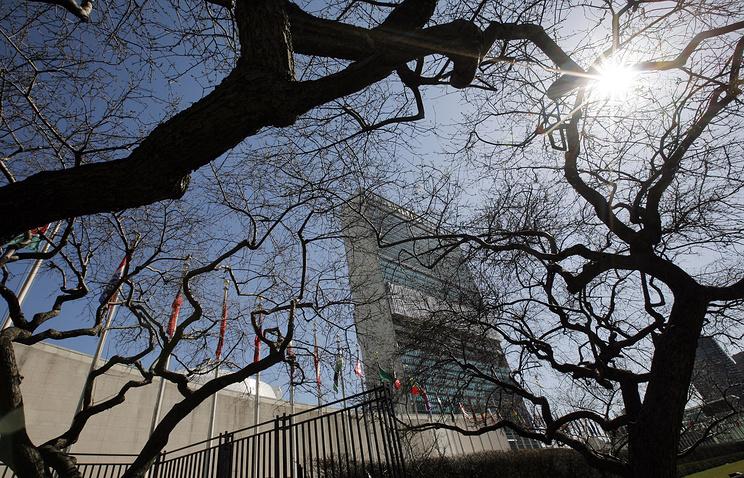 Совбез ООН непринял резолюциюРФ поСирии