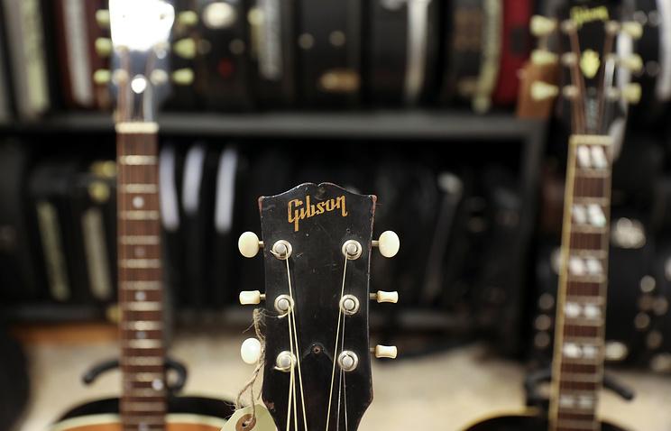 Производитель гитар Gibson объявил о банкротстве