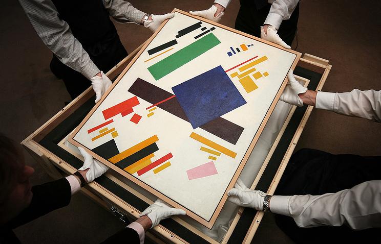 Нааукционе вНью-Йорке картину Малевича продали за $85 млн