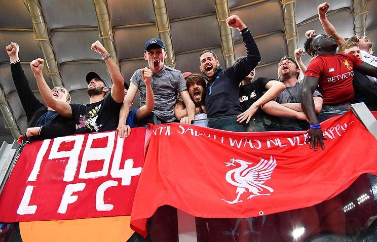 Наболельщиков «Ливерпуля» напали вКиеве
