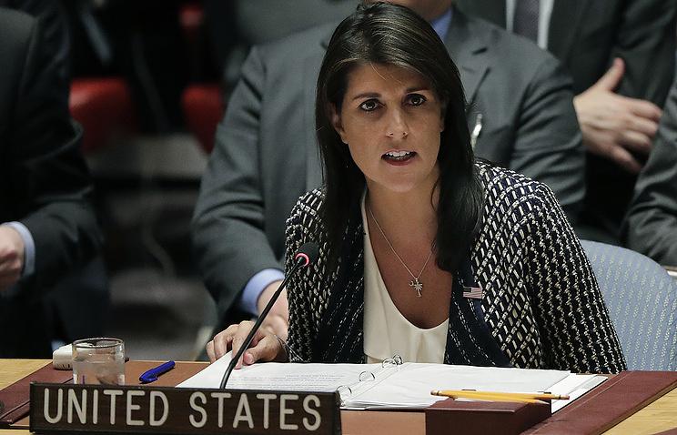 Совбез ООН неподдержал проект резолюции США поПалестине