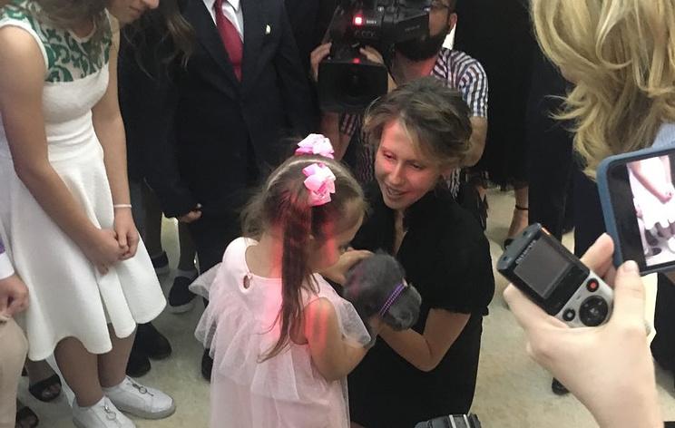 Асма Асад с дочерью Марата Ахметшина Ралиной