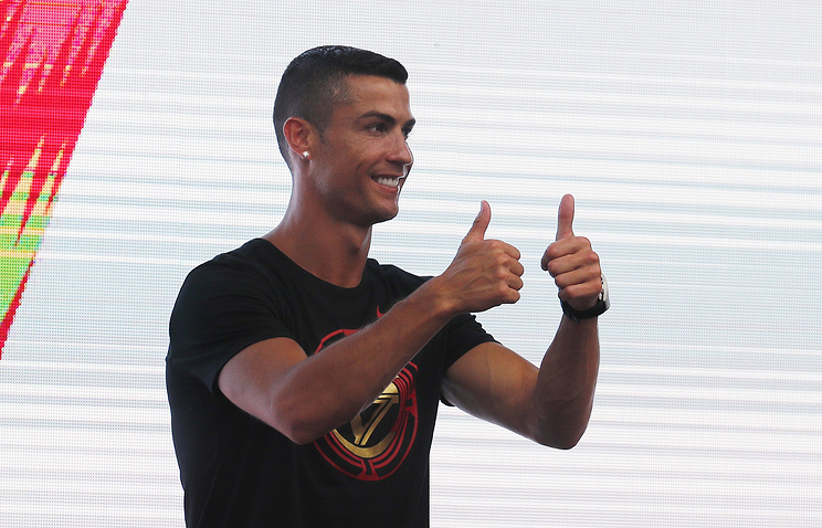 Роналду впервый раз посетил тренировку в«Ювентусе»