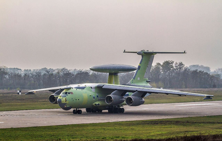 Самолет дальнего радиолокационного дозора А-100