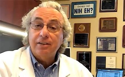 Профессор медицины Бернард Зинман, фото www.diabetes.ca