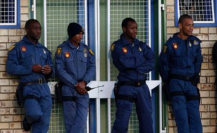 Полиция ЮАР. Фото ИТАР-ТАСС