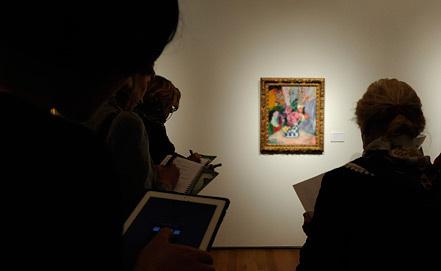 """Картина """"Пионы"""" Анри Маттиса. Фото EPA/ИТАР-ТАСС"""