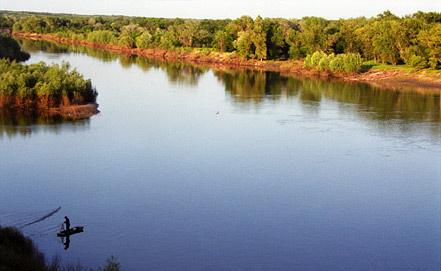 Река Хопер. Фото  ИТАР-ТАСС/Дмитрий Рогулин