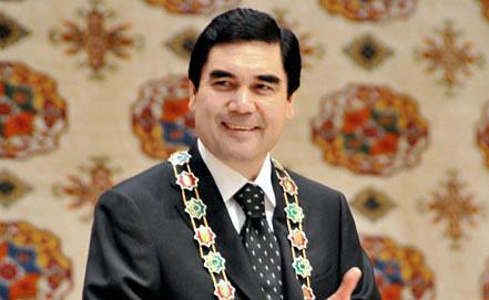 Президент Туркмении Гурбангулы Бердымухамедов. Фото ИТАР-ТАСС/ Александр Туманов