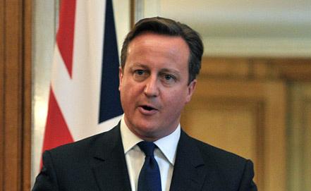 Премьер-министр Великобритании Дэвид Кэмерон. Фото ИТАР-ТАСС/ Алексей Никольский