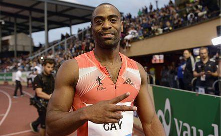 Спринтер Тайсон Гэй попался на допинге. Фото EPA/ИТАР-ТАСС