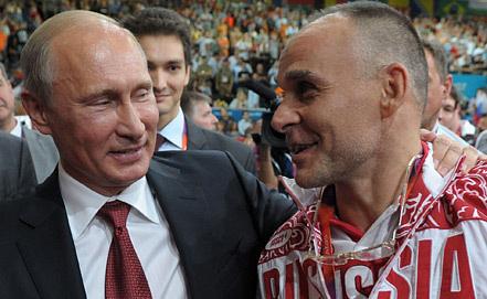 Владимир Путин и Эцио Гамба. Фото EPA/ИТАР-ТАСС