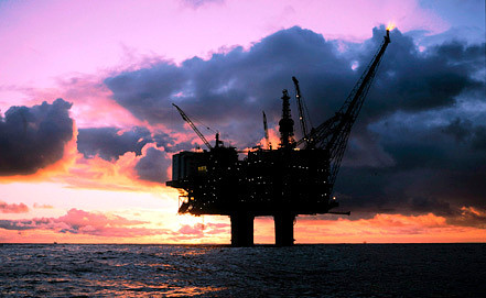 Платформа Statoil. Фото EPA/ИТАР-ТАСС