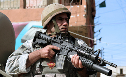 Солдат ливанской армии. Фото EPA/ИТАР-ТАСС