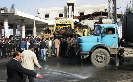 Автобусная станция в Дамаске. Фото  из архива ЕРА/ИТАР-ТАСС