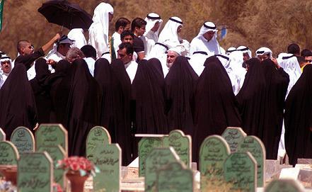 Похороны жертв войны в Кувейте. Фото EPA/ИТАР-ТАСС