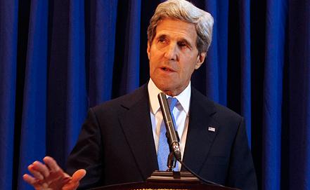 Джон Керри, фото из архива EPA/ИТАР-ТАСС