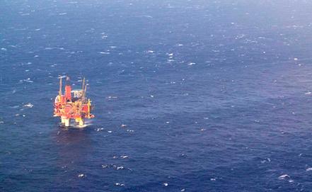 Платформа Statoil в Северном море. Фото EPA/ИТАР-ТАСС