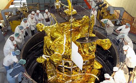 "Межпланетная станция ""Фобос-Грунт"". Фото ИТАР-ТАСС"