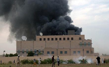 Посольство США в Судане. Фото EPA/ИТАР-ТАСС