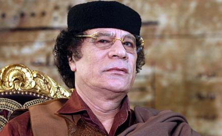 Муаммар Каддафи. Фото EPA/ИТАР-ТАСС