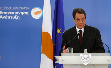 Президент Кипра Никос Анастасиадис Фото EPA/ИТАР-ТАСС