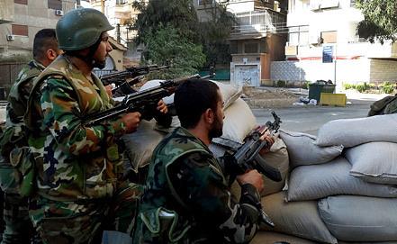 Сирийская армия. Фото EPA/ИТАР-ТАСС