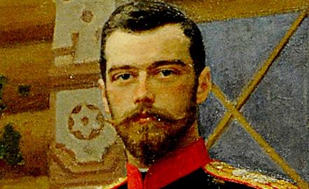 Фрагмент портрета императора Николая II работы Ильи Репина. Фото ИТАР-ТАСС