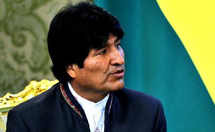Президент Боливии Эво Моралес. Фото ИТАР-ТАСС