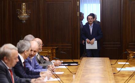 Встреча с главами РАН. Фото ИТАР-ТАСС