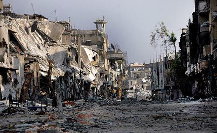 Ситуация в Хомсе. Фото из архива EPA/ИТАР-ТАСС