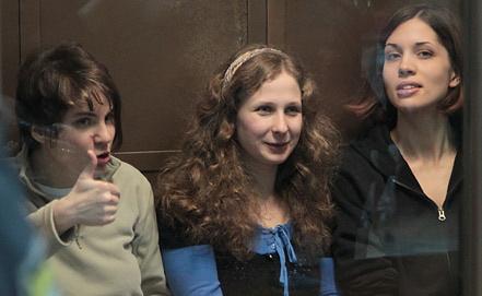 Екатерина Самуцевич - на фото слева. Фото EPA/ИТАР-ТАСС
