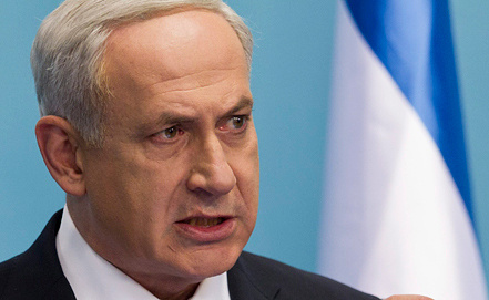 Биньямина Нетаньяху. Фото EPA/ИТАР-ТАСС