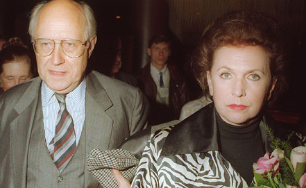 Мстислав Ростропович и Галина Вишневская, 1993 год. Фото ИТАР-ТАСС