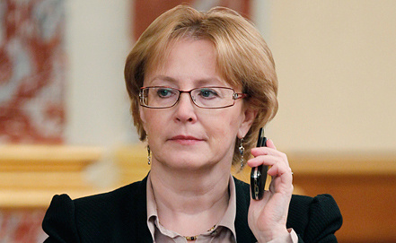 Вероника Скворцова, фото ИТАР-ТАСС