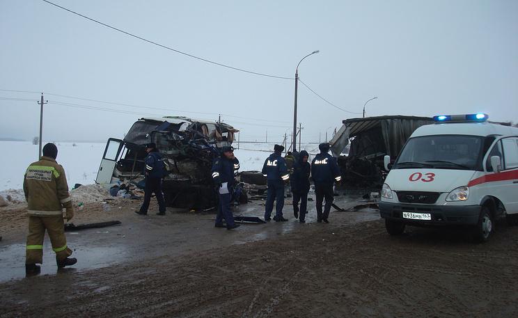 Фото ИТАР-ТАСС/ ГУ МЧС по Самарской области