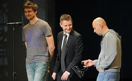 П. Костомаров, А. Пивоваров, А. Расторгуев (слева направо). Фото ИТАР-ТАСС