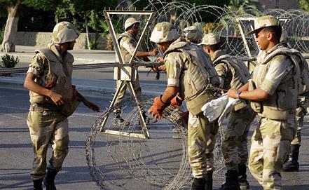 Египетские солдаты, фото из архива EPA/ИТАР-ТАСС