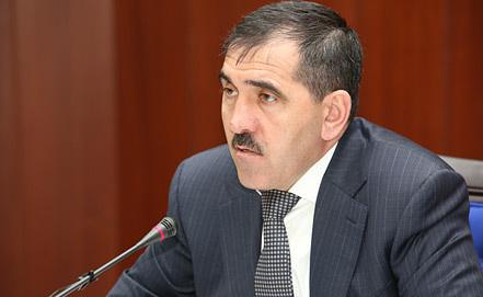 Юнус-Бек Евкуров. Фото пресс-службы главы Республики Ингушетия